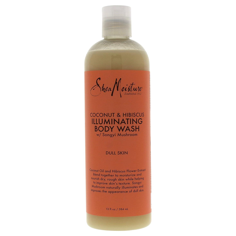Shea Moisture Coconut Hibiscus Body Wash 385 ml U-BB-2698