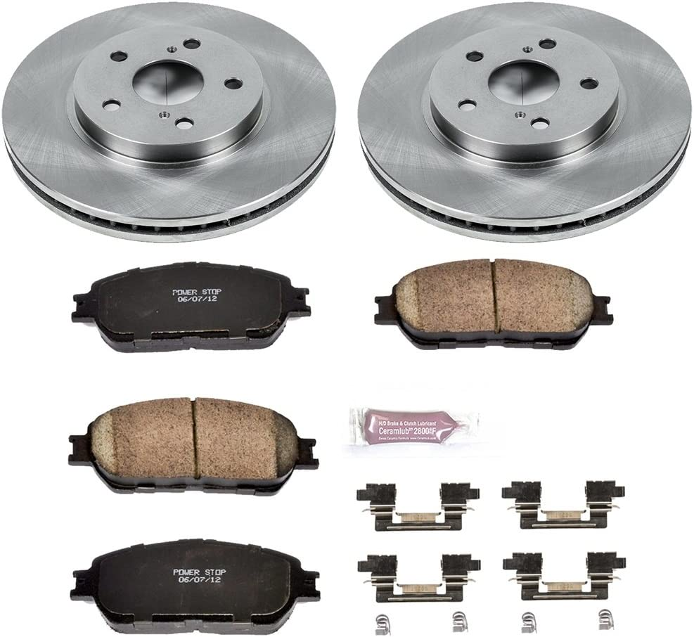 Autospecialty KOE098 1-Click OE Replacement Brake Kit