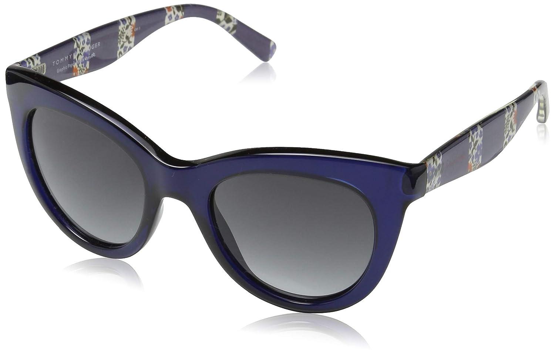 Tommy Hilfiger TH 1480/O/S 9O Gafas de sol, Blue, 51 Unisex-Adulto