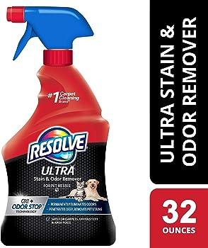 Resolve Ultra Pet Stain & Odor Remover Spray