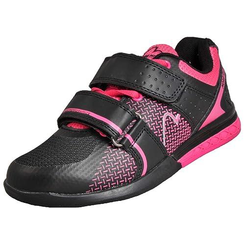 Zapatillas deportivas Super Lift 3 de More Mile para mujer, para Crossfit y levantamiento de pesas; negras: Amazon.es: Deportes y aire libre