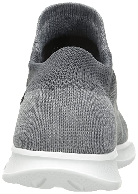 Go Step Lite-Effortless, Formateurs Femme, Gris (Grey), 37.5 EUSkechers