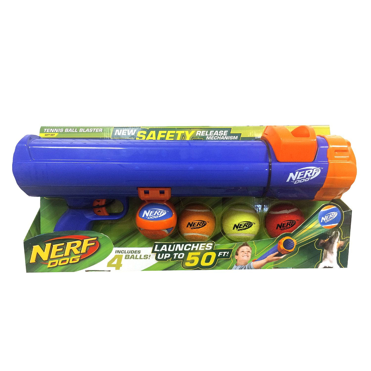 Nerf Dog Tennis Ball Blaster Geschenk-Set