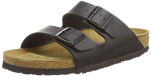 Sandali neri per unisex Birkenstock Arizona svFnteTN
