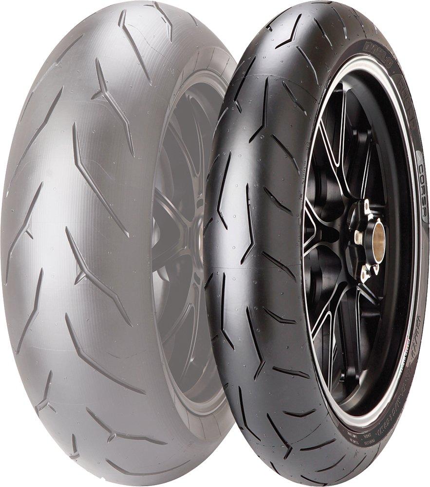 Pirelli DIABLO ROSSO CORSA Street Sport Motorcycle Tire - 120/70ZR17 58W 296122 871-1011-MPR2