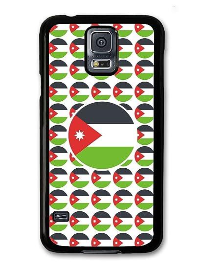 best sneakers 20db8 3db53 Amazon.com: Jordan Flag علم الأردن case for Samsung Galaxy S5: Cell ...