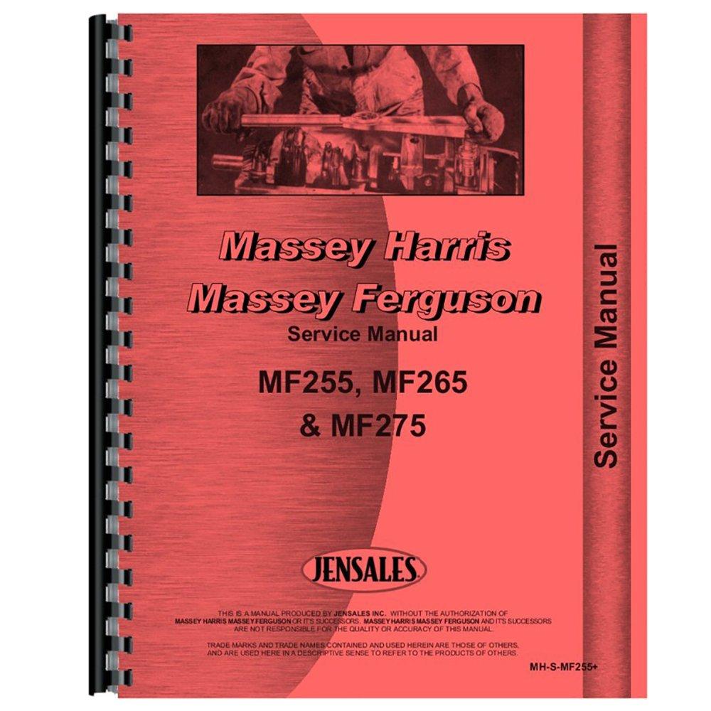 Amazon.com: Massey Ferguson MF 265 Service Manual [Paperback] [Apr 09,  1987] Massey Fergu.: Industrial & Scientific