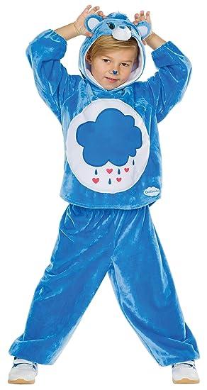 glücksbärchi kostüm blau