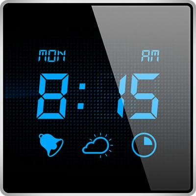 Mi Despertador - Despiértate con la aplicación de reloj de alarma digital con temporizador de reposo y las condiciones meteorológicas actuals