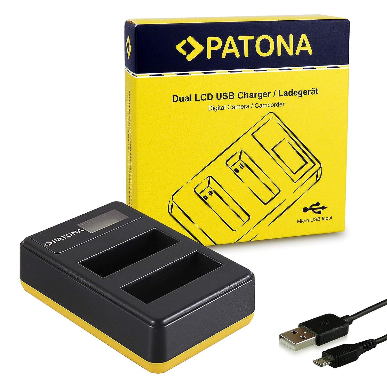 PATONA Cargador de batería Doble LCD USB para NP-BX1 Bateria ...