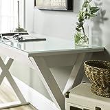 WE Furniture Modern Farmhouse X Computer Writing