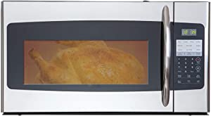 SMETA 1.6 Cu.Ft Over-the-Range Microwave Oven 30'' 1000W, with Hidden/2 Speed Vent, Bottom light, ECO Mode, Safe Child Lock, Stainless Steel