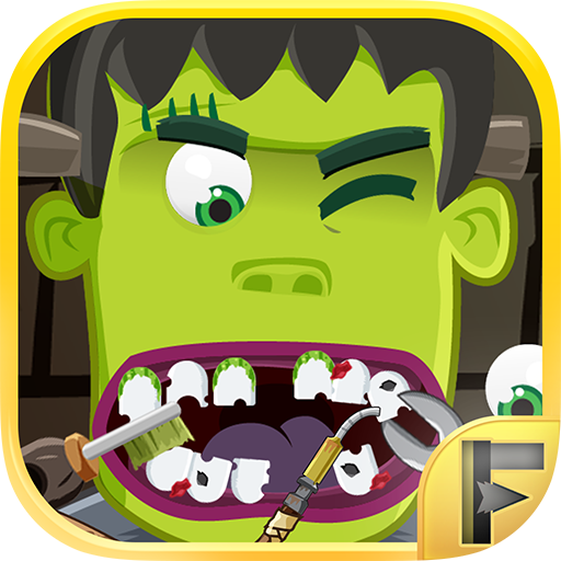 Little Monsters Dentist Surgery Adventure Clinic Tooth Hospital (Halloween Photo Booth App)