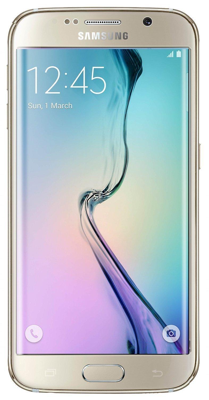Samsung Galaxy S6 Edge G925I Unlocked Phone - Retail Packaging - Gold Platinum