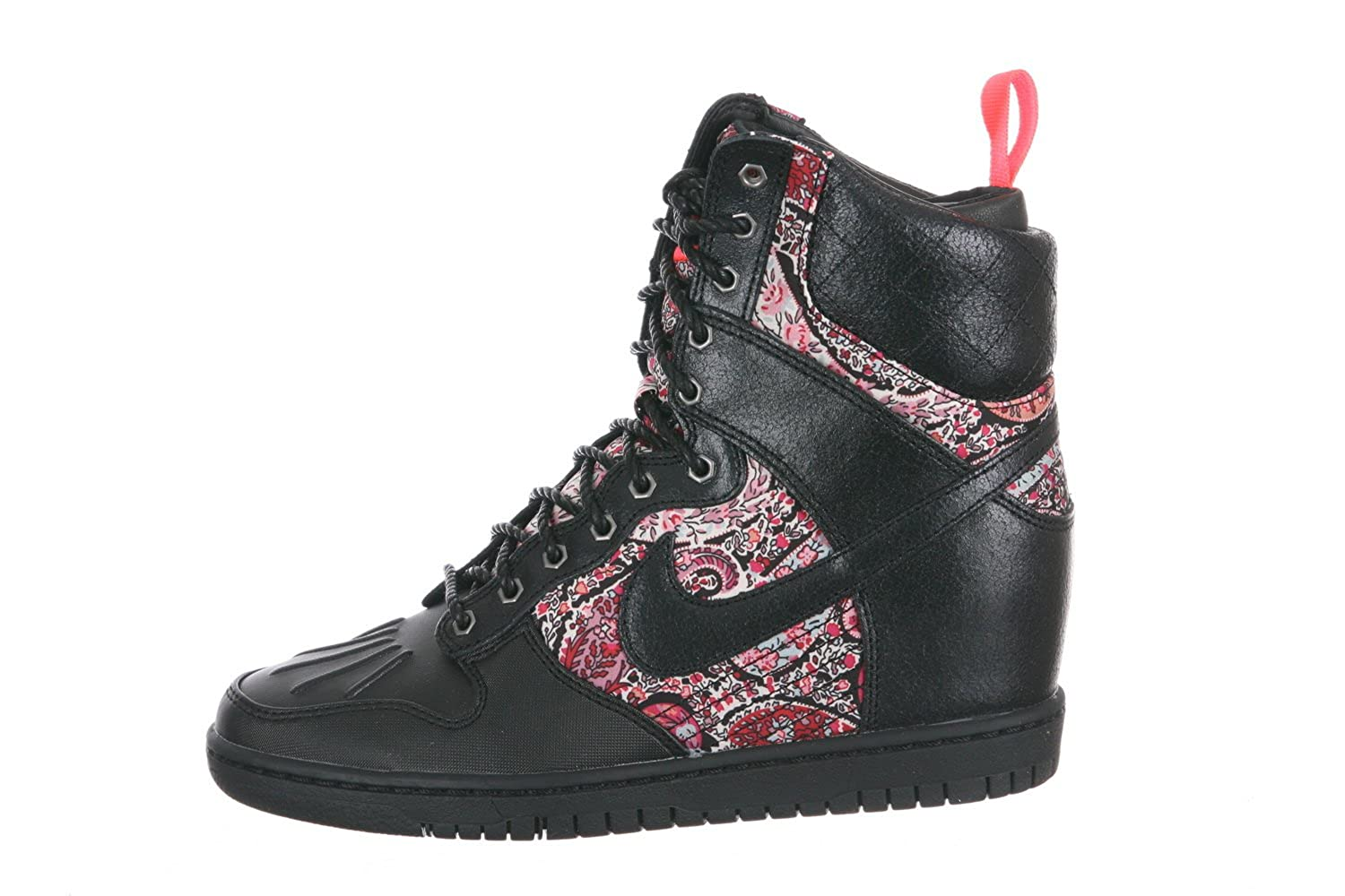 huge selection of 802ad 298d6 NIKE Dunk Sky Hi Liberty Sneakerboot QS (WMNS) Baskets Femme 632180-006-36-5.5  Rose  Amazon.co.uk  Shoes   Bags