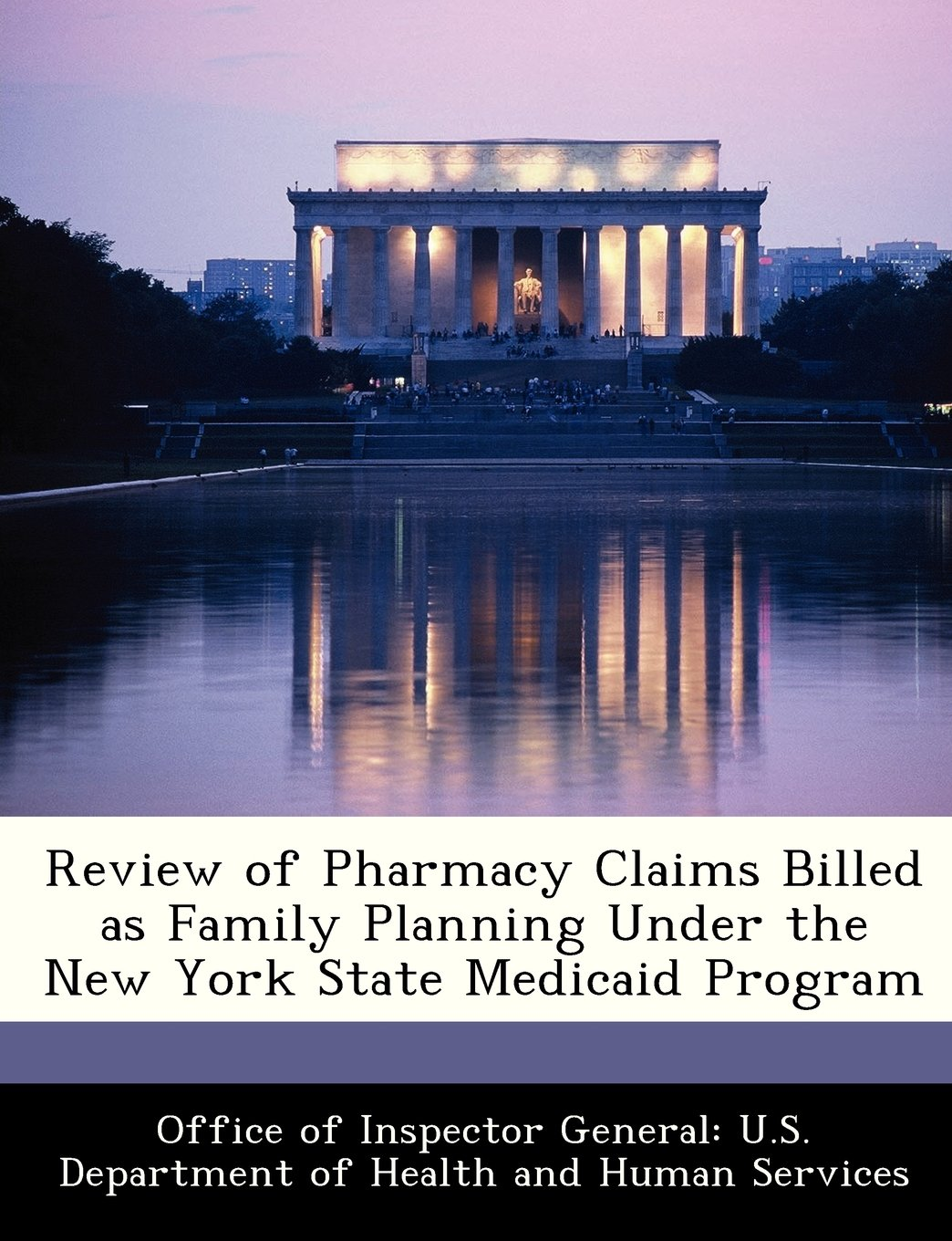 Download Review of Pharmacy Claims Billed as Family Planning Under the New York State Medicaid Program pdf epub