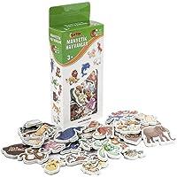 Manyetik Hayvanlar Oyun Figürleri (30 Parça)