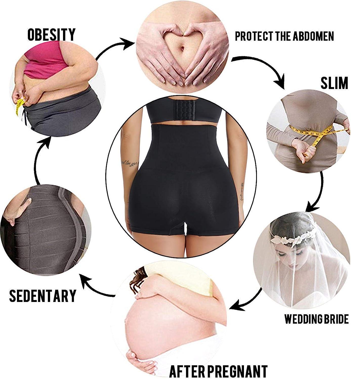 SURE YOU LIKE Damen Taille Shapewear Figurenformend Miederpants Miederhose Body Shape Bauch Kontrolle Unterw/äsche