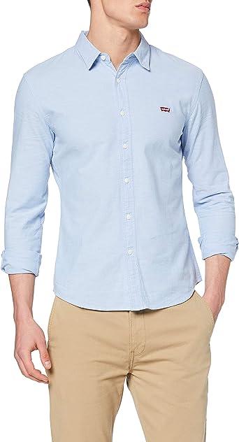 Levis LS Battery Hm Shirt Slim Camisa para Hombre: Amazon.es: Ropa y accesorios