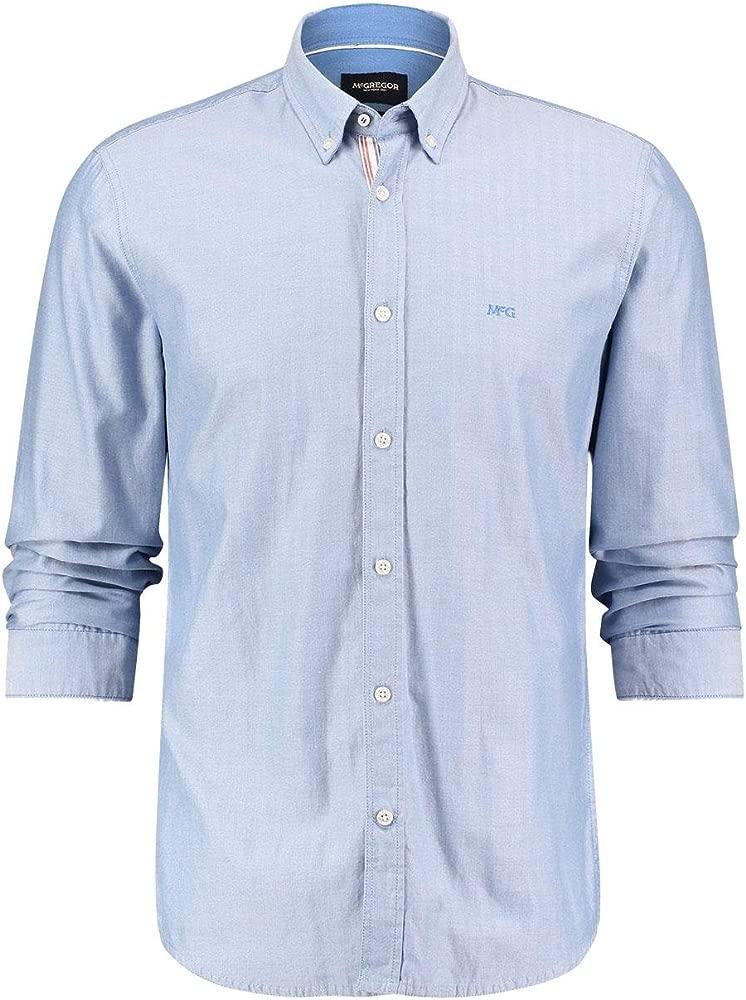Camisa McGregor Henry Azul XXL Azul: Amazon.es: Ropa y accesorios