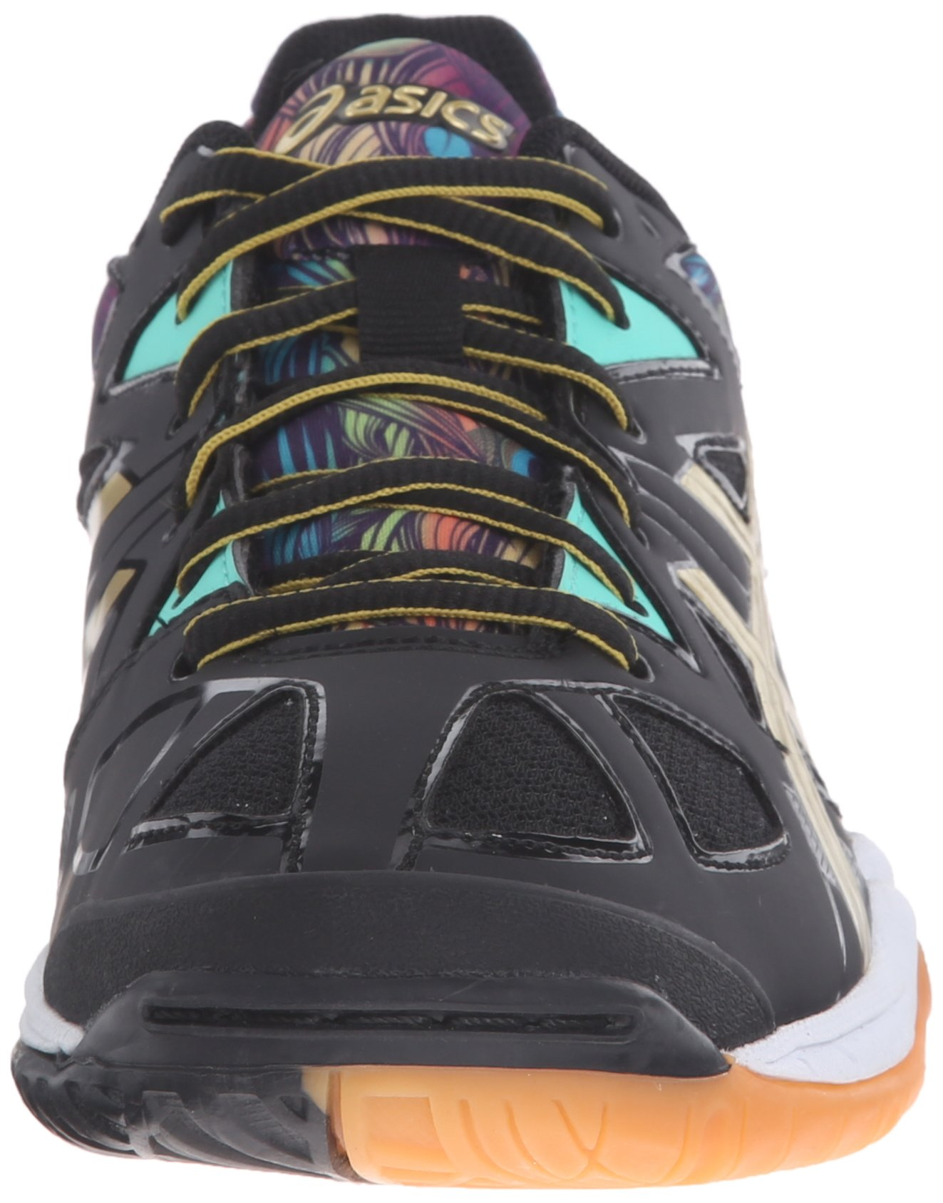 c23eb39a3 ASICS Women's Gel-Tactic Volleyball Shoe, Black/Gold/Electric Green, 10.5 M  US - B554N.9094 < Volleyball < Clothing, Shoes & Jewelry - tibs