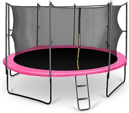 Klarfit Rocketgirl 430 Cama elástica trampolin con Red de ...
