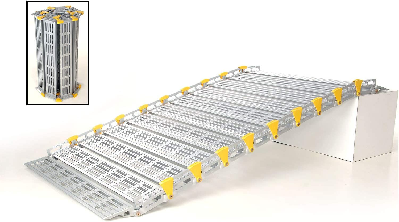 "Roll-A-Ramp HD 48"" Wide Roll Up Wheelchair Ramp, 1500 lbs Capacity (13' Foot)"