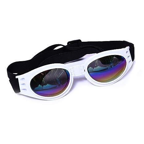 Hianiquaime Lindas Gafas de Sol Plegables para Perro Gato ...