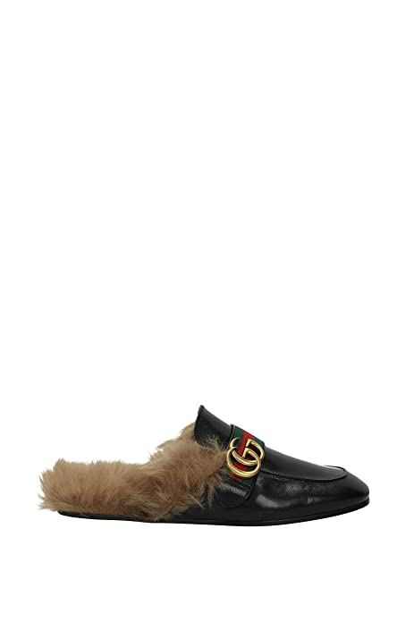 Zapatillas y Zuecos Gucci Hombre - Piel (469950D3VU0) EU: Amazon.es: Zapatos y complementos