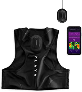 PLAYR Football GPS Tracker - GPS Vest and App to Track and Improve Your Game - for iPhone and Android (XXS)