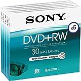 Sony Dvd + Rw 8Cm 30Min/2X Jewel Case (5 Disc)