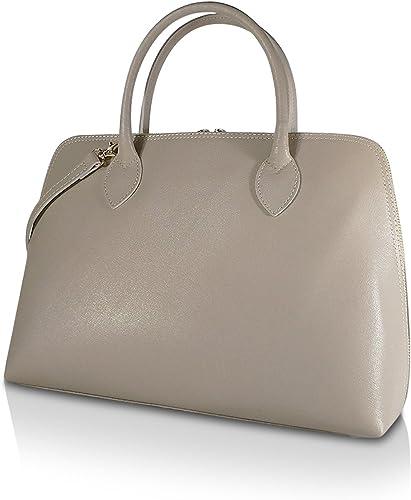 Glamexx24 Taschen Aus Echtem Leder Frauenhand Und Schulter Hergestellt in Italien