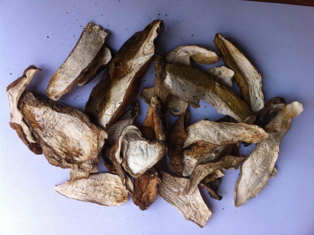 Organic wild mushroom porcini boletus edulis 730 grams, Grade A