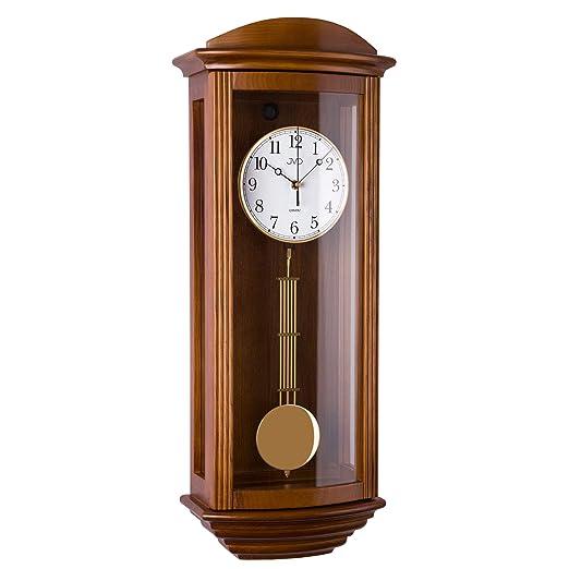 1b4ed1307f82 4510s 4515s 4525s 4530s 4535s - 11 Reloj con péndulo de Madera de Pared con  Movimiento de Cuarzo Timbre V  Amazon.es  Relojes