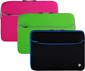 3n1 Back to School 13 inch Inch Laptop Sleeve for Acer Aspire V R, Travelmate, Ultrabook, Chromebook, Spin, Swift
