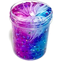 Poseimet Beautiful Fantasy Color Mixing Cloud Slime, Non-Toxic Clear Slime, Stress Relief Toys (120ml)