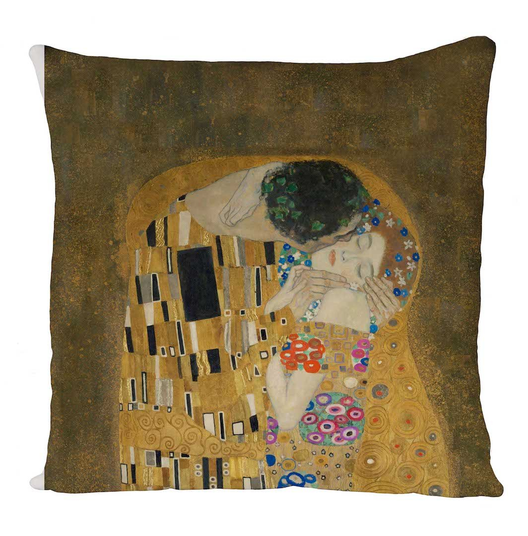 the Kiss Klimt, Fodera, Fodera per cuscino, Arredamento per la casa Uk print king