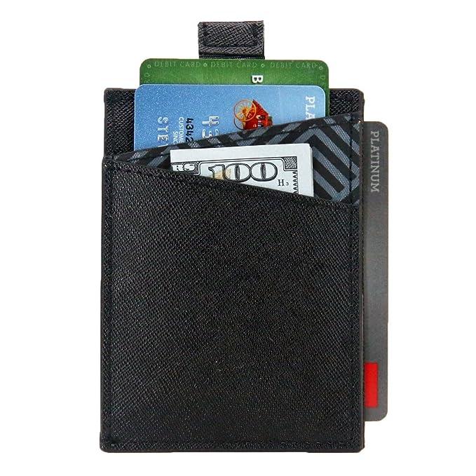 04811b0ac617 Slim Wallet 5.0 By DASH Co. - Minimal Wallet For Men & Women - RFID  Blocking, Quickdraw & Pull Tab
