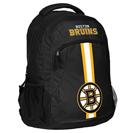 4c0a61cce3d Amazon.com : Boston Bruins Action Backpack : Sports & Outdoors