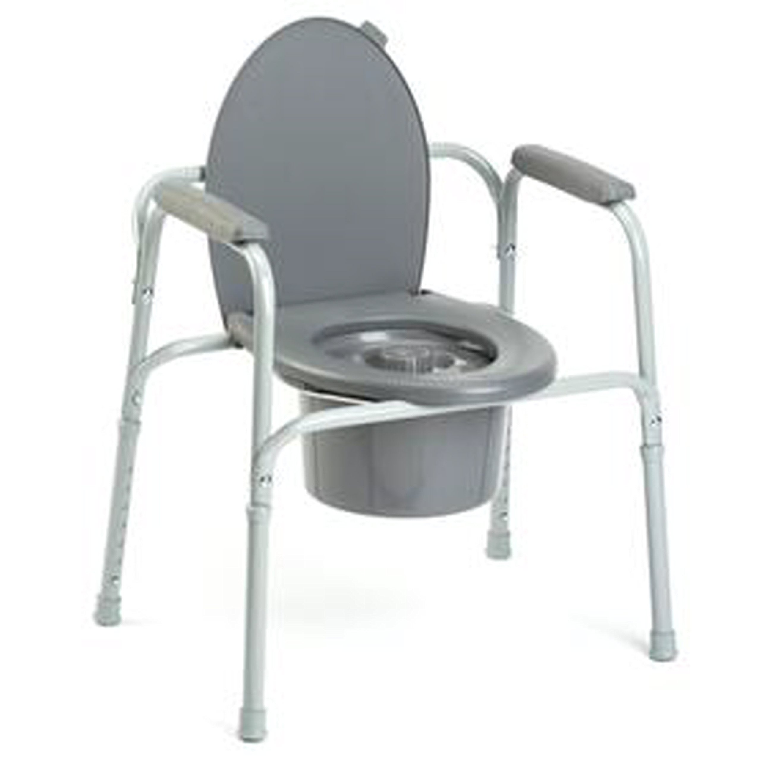INV96504EA - All-In-One Aluminum Commode