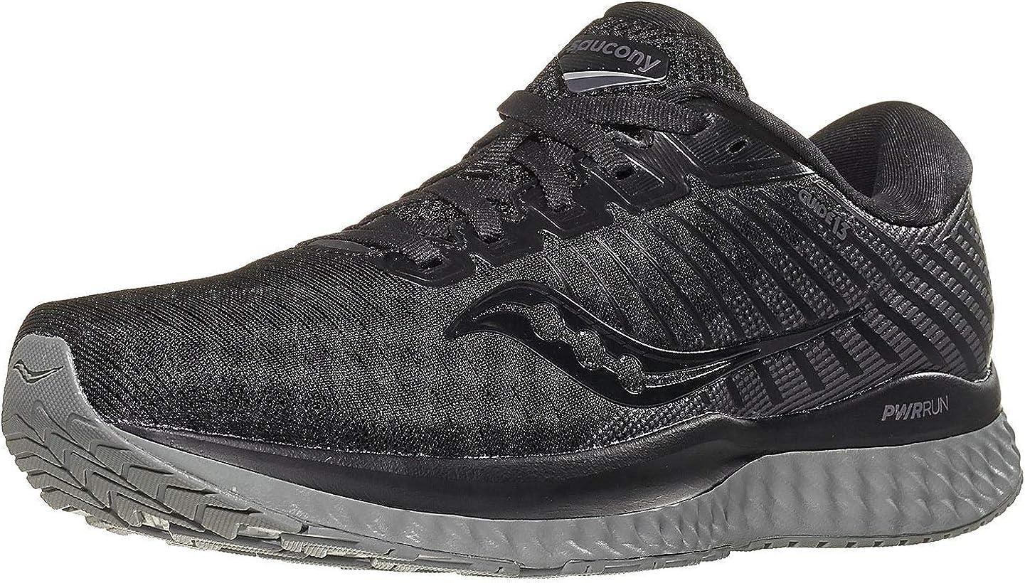 Saucony Men's Jogging Trail Running Shoe, Black
