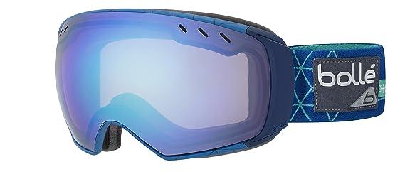 650a6a9b40 Amazon.com  Bolle Virtuose Adults Snow Snowmobile Goggles Eyewear - Black    Red Vermillon Gun Aurora Large  Sports   Outdoors
