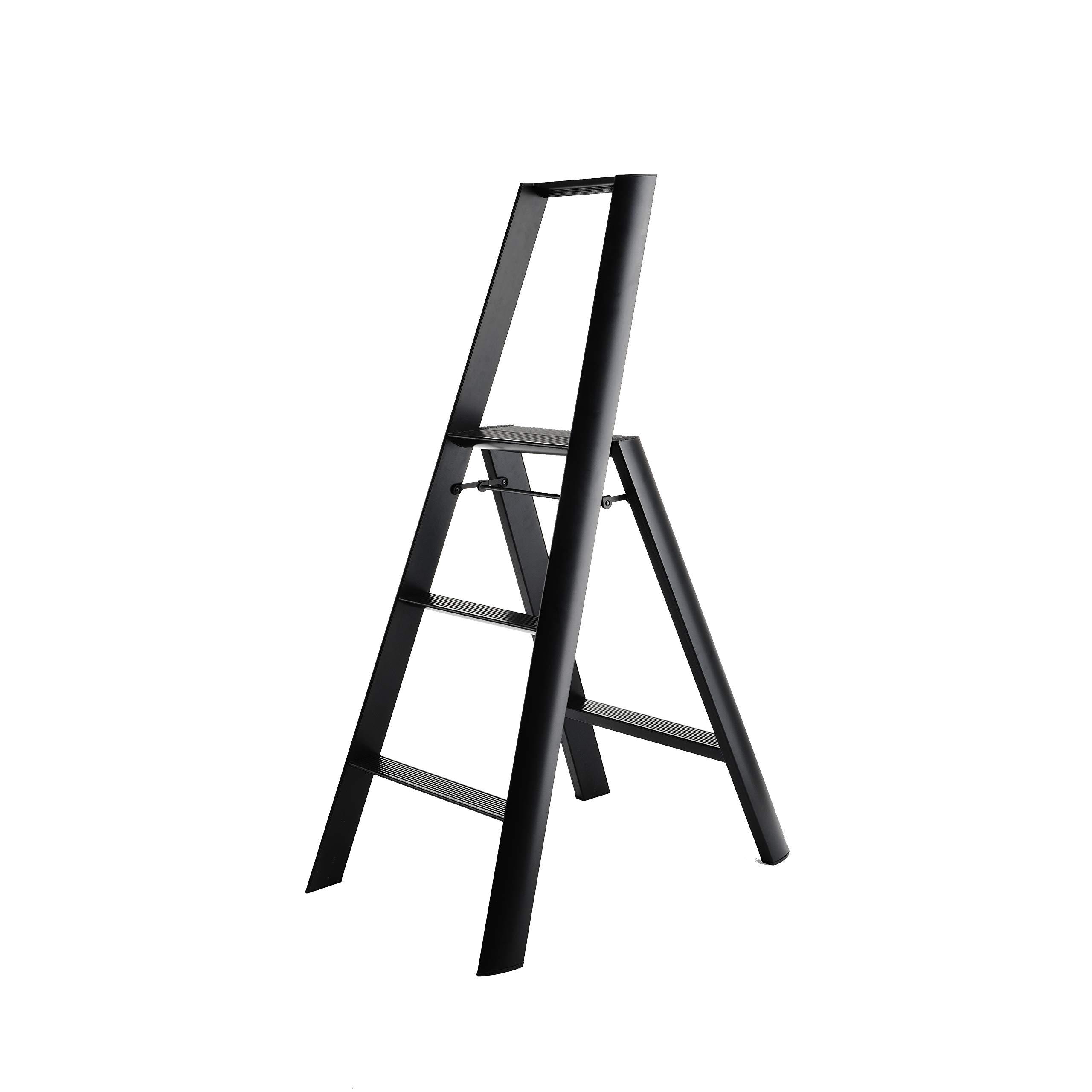 Hasegawa Ladders  Step Ladder, Black by Hasegawa Ladders