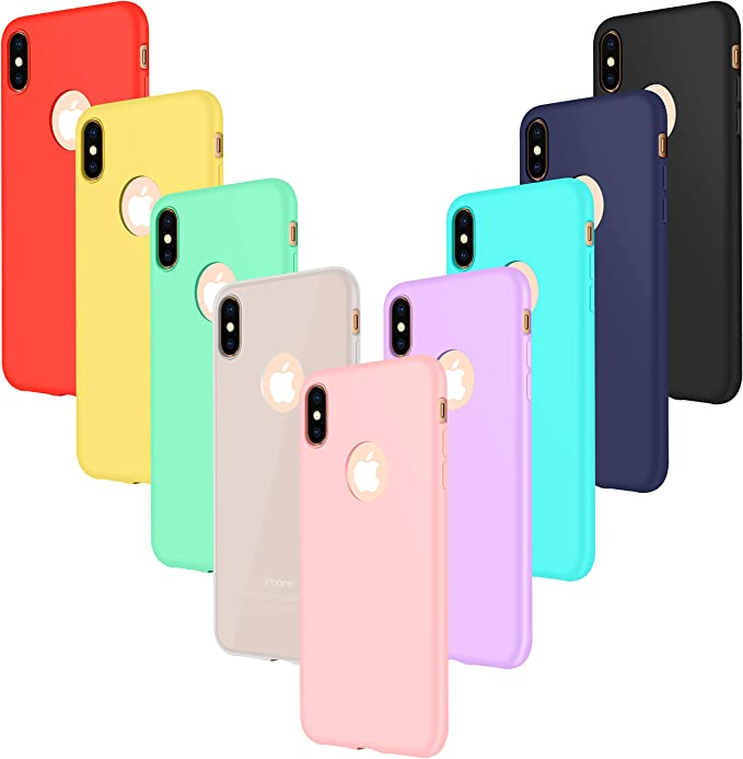 CUSTODIA APPLE ORIGINALE GEL TPU iPHONE X/XS 58 NERA  Uniko Store