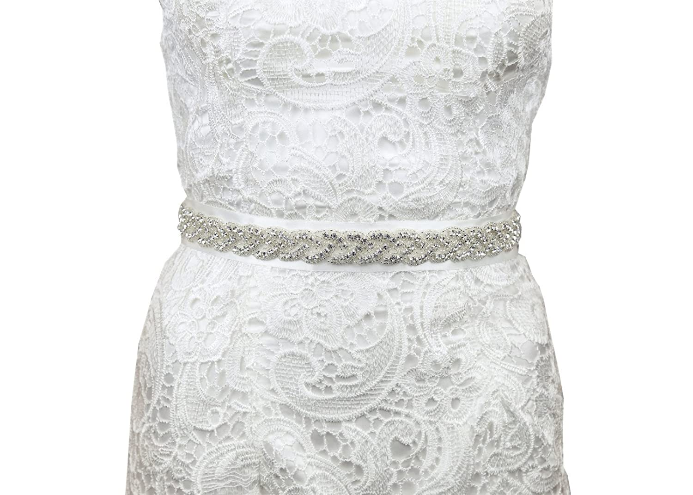 SoarDream Wedding Belt, Rhinestone Bridal Belts,Bridal Sash.
