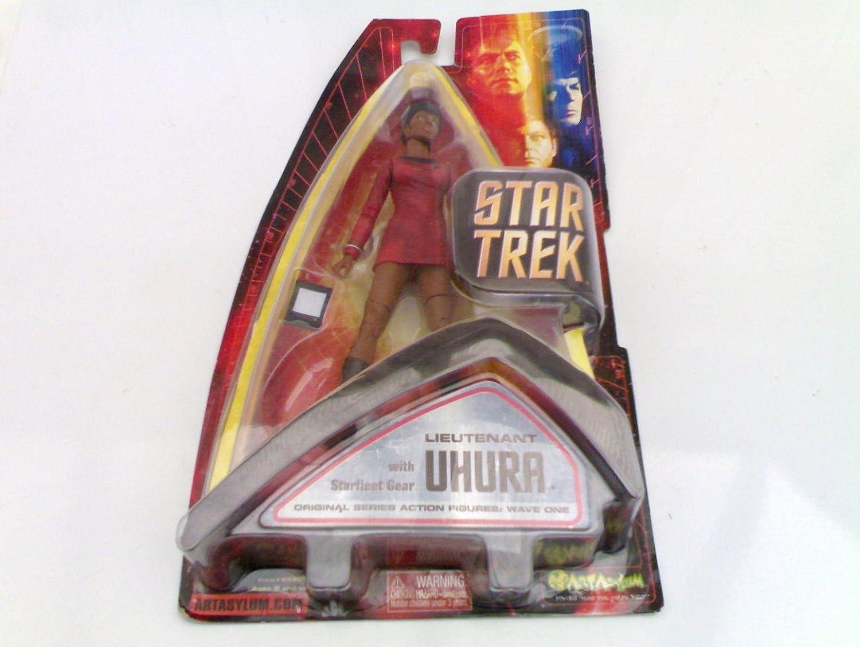 Uhura Action Figure Wave 1 Star Trek Art Asylum Lt