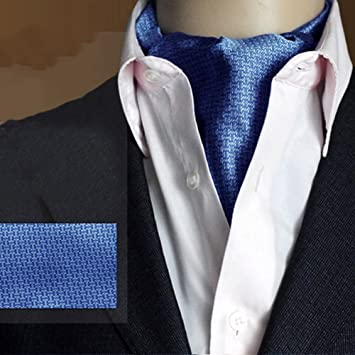 PENGFEI Seda Corbata Bufanda Hombres Hidalgo Camisa Moda Otoño E ...