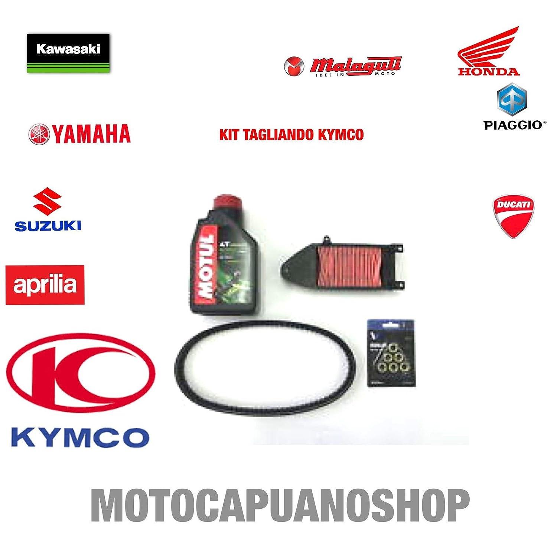 KIT TAGLIANDO OLIO CINGHIA RULLI FILTRO ARIA KYMCO AGILITY R16 125 MotoCapuano 351266897611