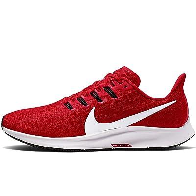 Nike Mens Air Zoom Pegasus 36 Running Shoe University Red/White 10 M US   Road Running