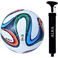 RAHICO CLUB Brazuca 32 Panel Hand Stitched Football (Size 5)